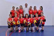 Echipa de minivolei Super Volei Oradea