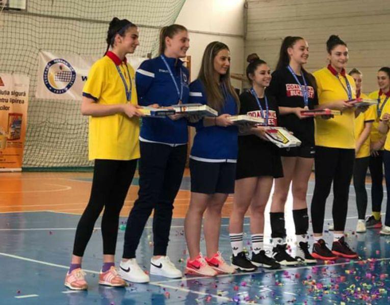 Castigatoarele premiilor individuale ale campionatului de cadete 2018/ 2019