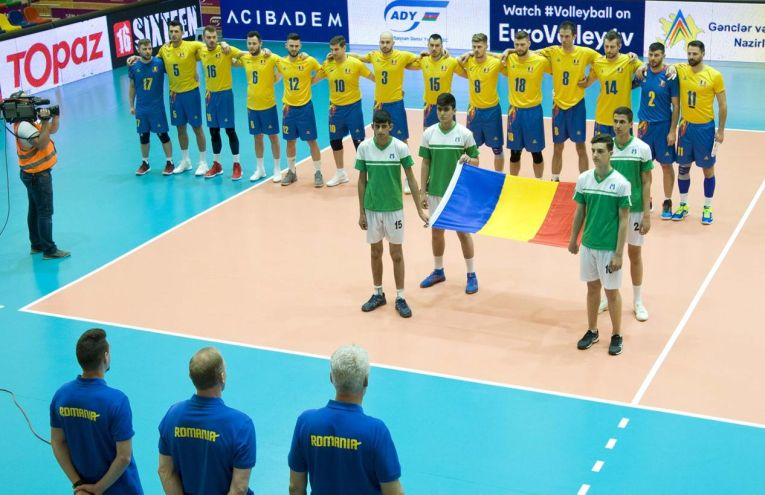 Nationala masculina de volei a Romaniei din Silver League 2019
