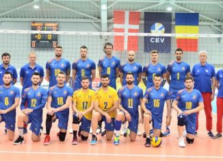 Nationala masculina de volei a României in Silver League 2019