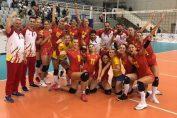 Bucuria nationalei Romaniei dupa calificarea in finala Silver League