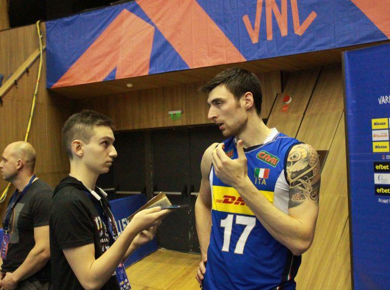 Simone Anzani, in momentul interviului acordat reporterului doarvolei.ro