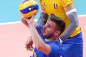 Vlad Kantor, la preluare în meciul cu Grecia