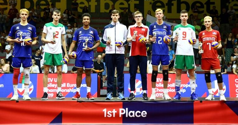 Echipa ideală a Campionatului European Under 17, 2019