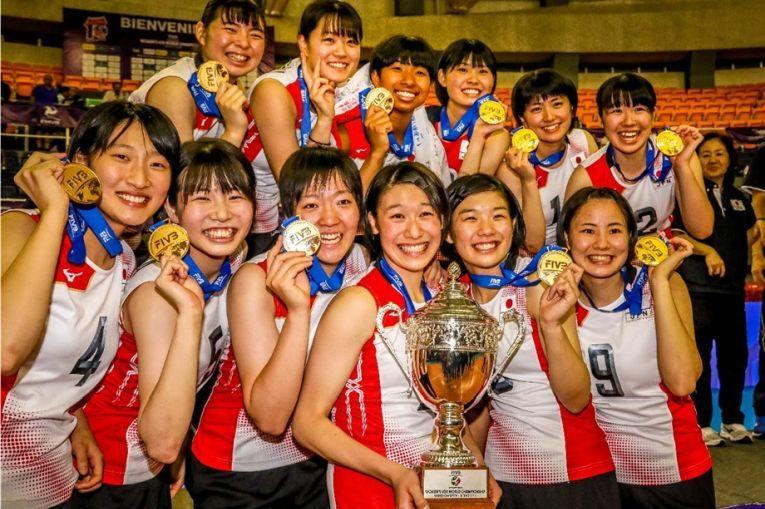 Japonia e noua campioană mondială Under 20 la volei feminin