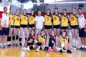 Naționala feminină Under 16 a României la Balcaniada din Serbia