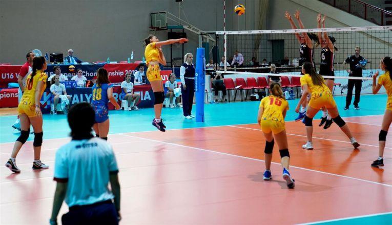 Naționala de volei a Romaniei a fost eliminată după faza grupelor Campionatului European Under 16