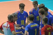 Nationala masculina de volei Under 17 a Romaniei, la European