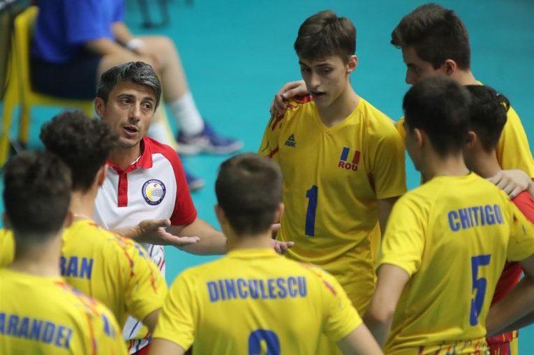 Naționala României a fost eliminată de la Europenele Under 17 la volei masculin