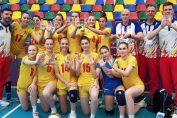 Nationala feminina de volei a Romaniei s-a calificat in semifinalele FOTE 2019