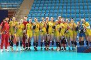 Nationala feminină de volei a României, medaliată cu argint la FOTE 2019