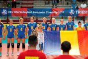 Nationala feminină Under 16 a României la Campionatul European de volei