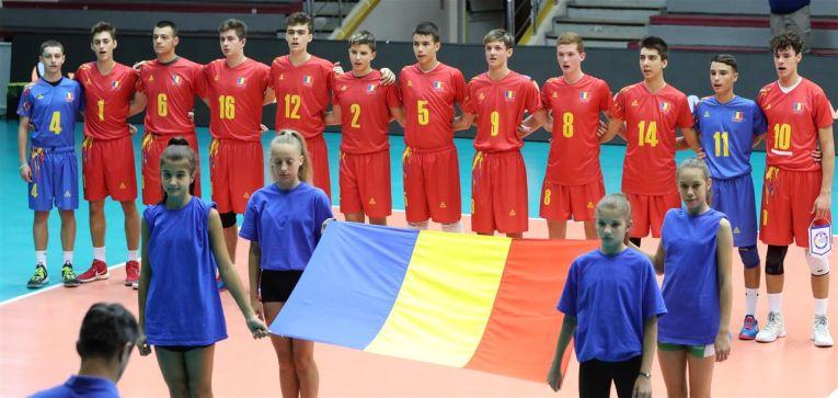 Naționala Romaniei U17, inaintea meciului cu Turcia, de la Europene