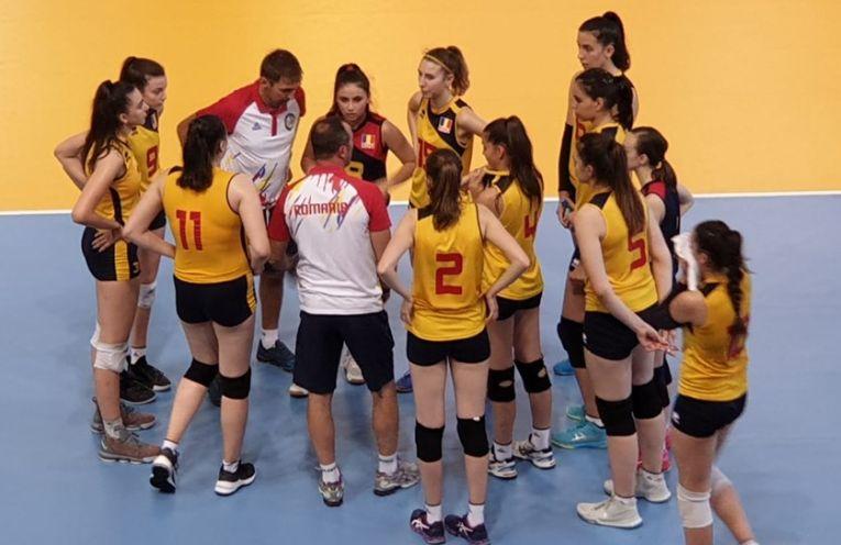 Naționala Under 16 a Romaniei la volei feminin