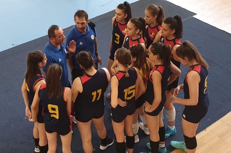 Naționala Under 16 a Romaniei la Campionatul Balcanic