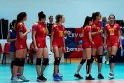 Echipa feminina de volei Under 16 a pierdut si meciul cu Serbia