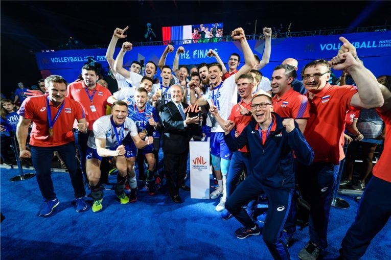 Rusia a cucerit titlul la VNL 2019