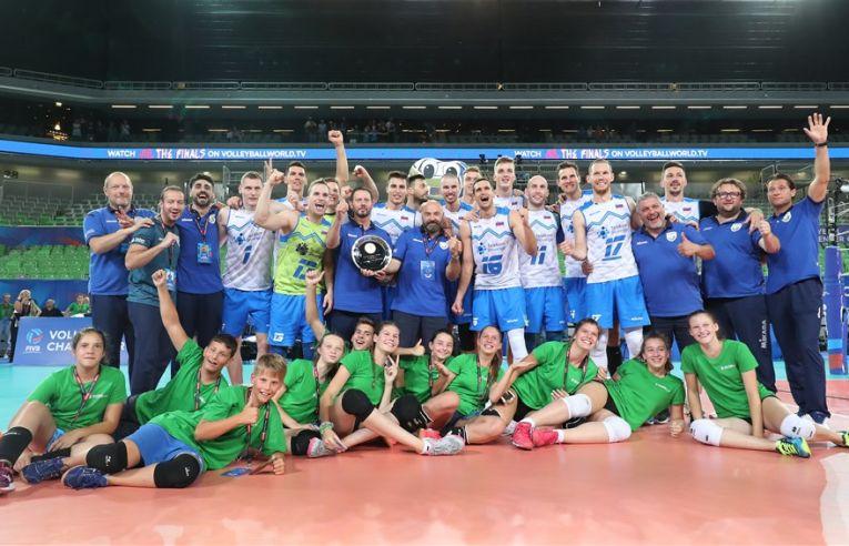 Slovenia s-a calificat la VNL 2020