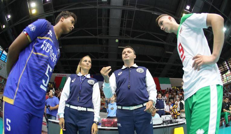 Arbitrul român Tudor Pop a condus finala Campionatului European U17 la volei masculin