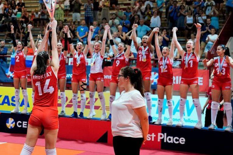 Turcia a câștigat titlul european Under 16 la volei feminin, ediția 2019
