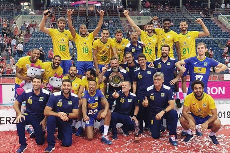 Naționala Braziliei a castigat Memorialul Wagner din Polonia inaintea turneului preolimpic de la Varna