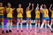 Naționala feminina de volei a României, înaintea primului meci de la Campionatul European 2019, contra Olandei