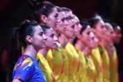 Naționala feminină a României, înaintea meciului cu Croația