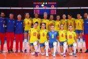 Naționala feminina a României la primul meci al Campionatului European de volei 2019