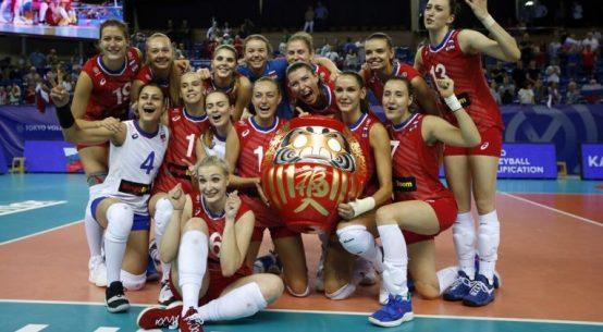 Naționala feminină de volei a Rusiei s-a calificat la Jocurile Olimpice din 2020