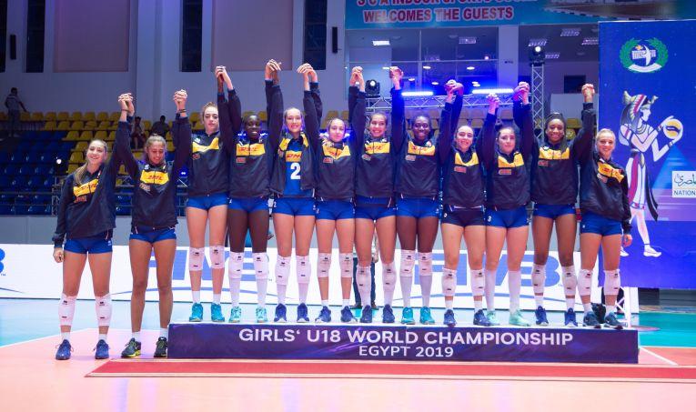 Italia a terminat Campionatul Mondial feminin de volei U18, editia 2019, pe locul 2
