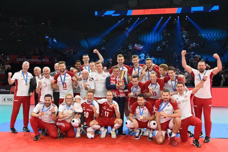 Polonia a cucerit medalia de bronz la Campionatul European