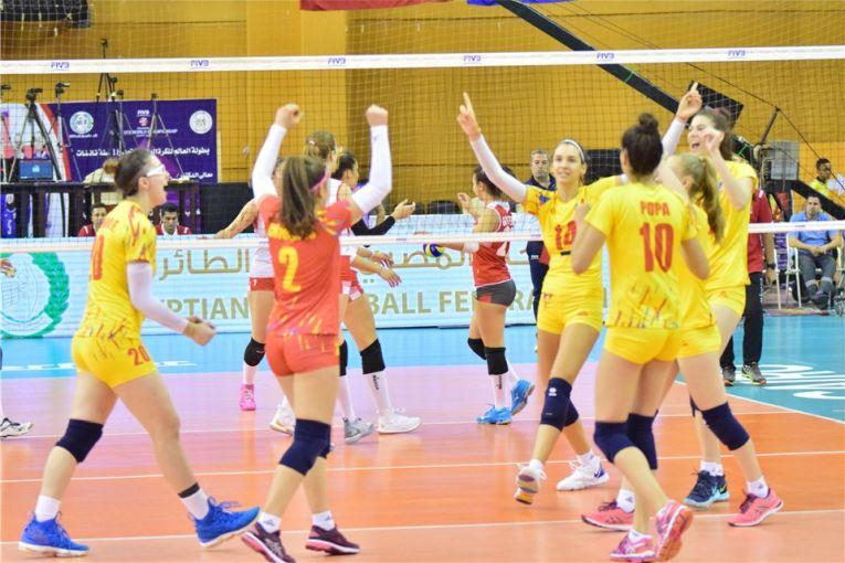 Nationala feminina de volei a Romaniei, după calificarea in sferturile de finală ale Campionatului Mondial U18