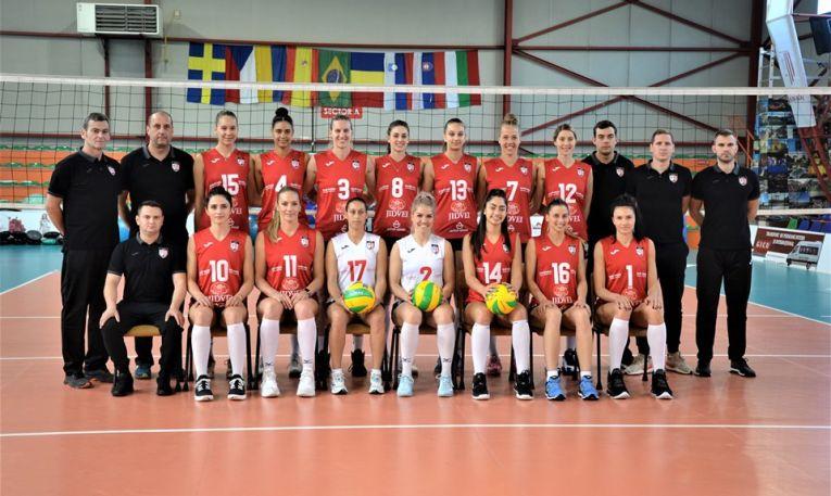 Volei Alba Blaj este gata de Liga Campionilor