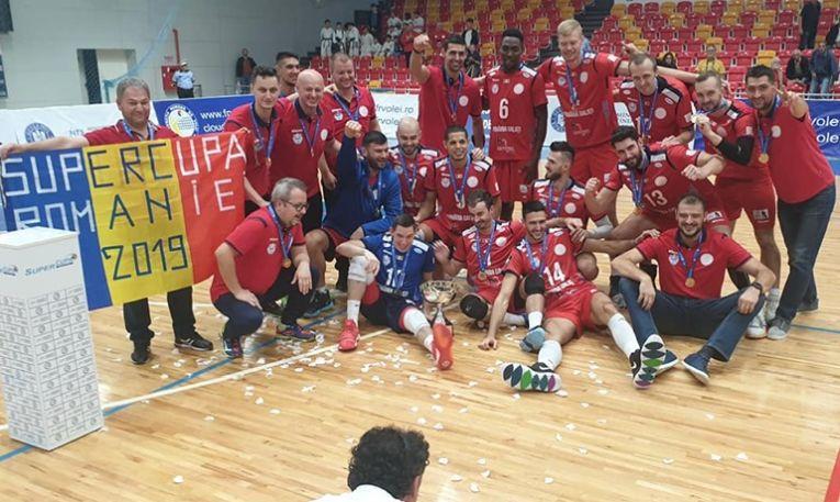 Arcada Galați a cucerit Supercupa Romaniei 2019