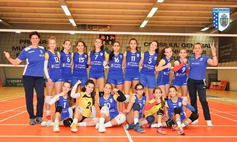 Echipa de cadete a CSM Bucuresti pentru sezonul 2019/ 2020