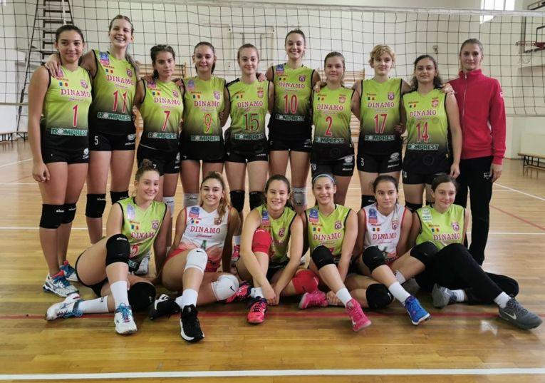 Echipa de cadete Dinamo pentru sezonul 2019/ 2020