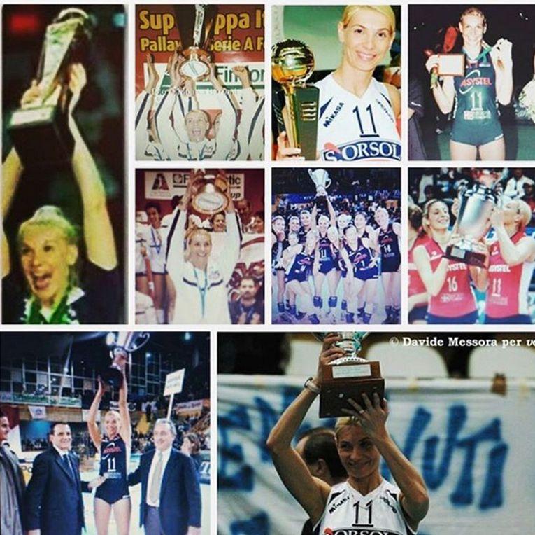 Cristina Pîrv a cucerit trofee atât în Italia cât și în Brazilia