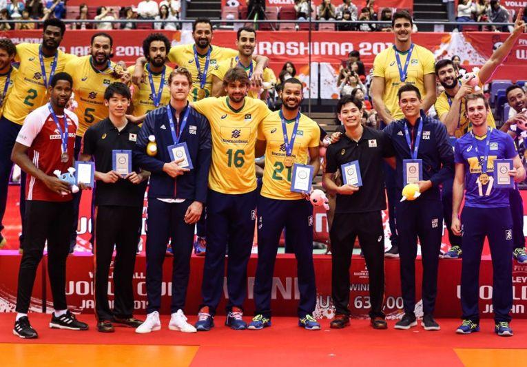 Echipa ideală a Cupei Mondiale 2019 la volei masculin