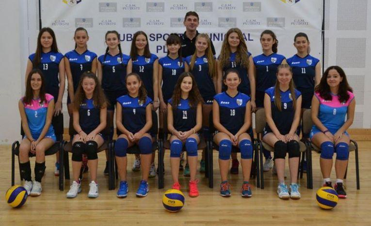 Echipa de junioare CSM Ploiesti pentru sezonul 2019/ 2020