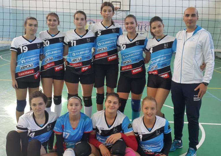 Echipa de junioare Bravol Brașov pentru campionatul 2019/ 2020