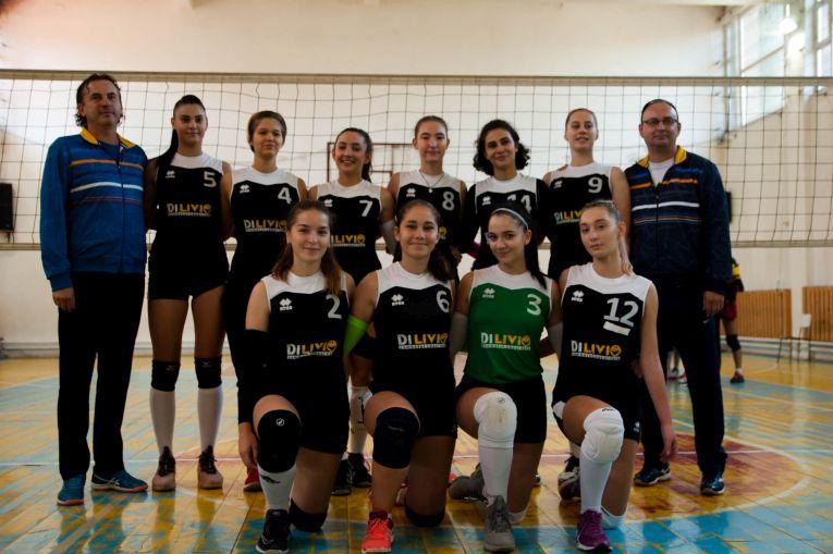 Echipa de junioare a CSS Bacău în sezonul 2019/ 2020