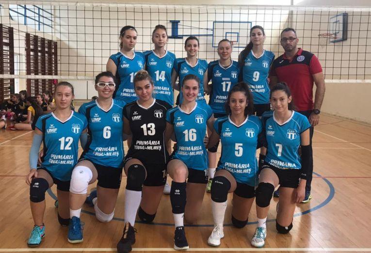 Echipa de junioare Medicina Târgu Mureș pentru campionatul 2019/ 2020