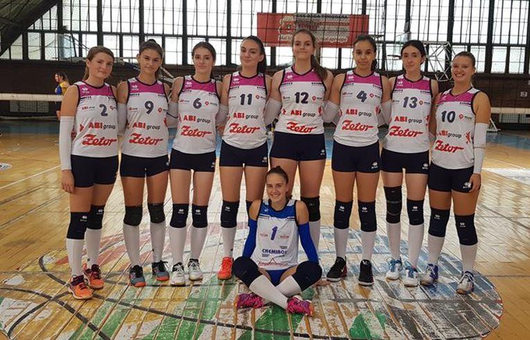 Echipa de junioare Victoria Nădlac in sezonul 2019/ 2020