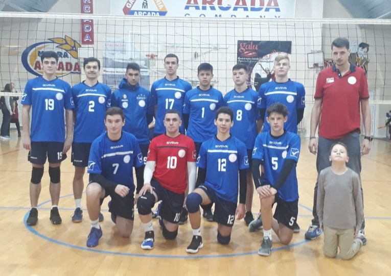 Echipa de juniori Arcada Galați pentru sezonul 2019/ 2020