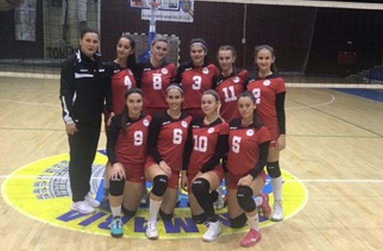 Echipa de junioare CNMV Ploiesti in sezonul 2019/ 2020