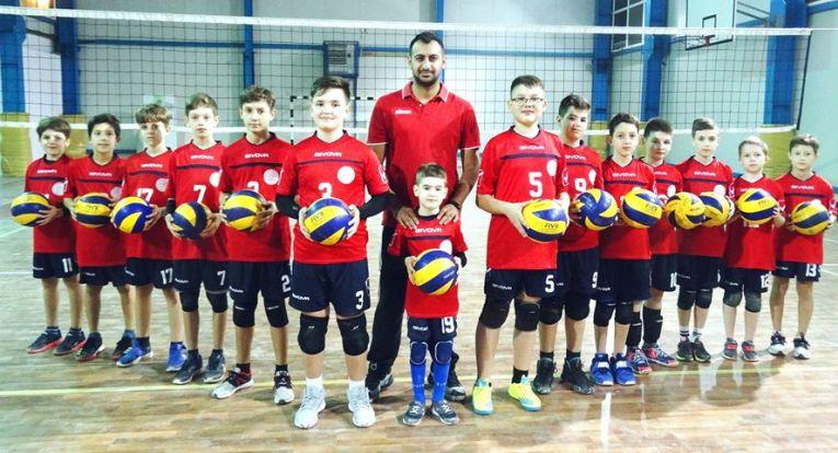 Echipa de minivolei Arcada Galați in sezonul 2019/ 2020