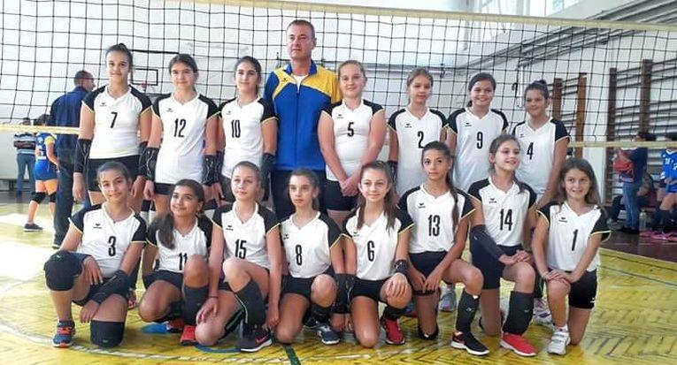 Echipa de minivolei CS Muscel la primul turneu al campionatului 2019/ 2020