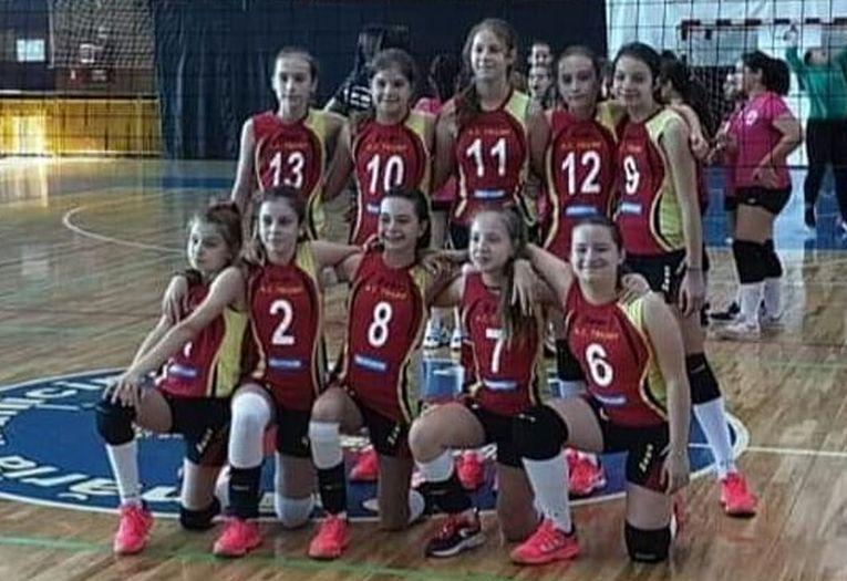 Echipa de minivolei CSS Botosani pentru sezonul 2019/ 2020