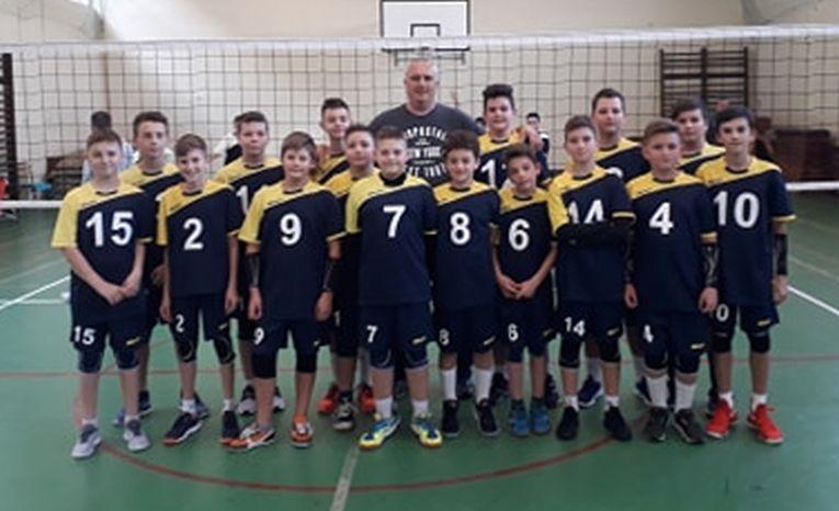 Echipa de minivolei CSS Zalău in sezonul 2019/ 2020