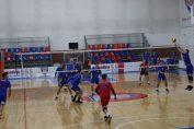 Tudor Constantinescu, setter of romanian volleyball team Steaua